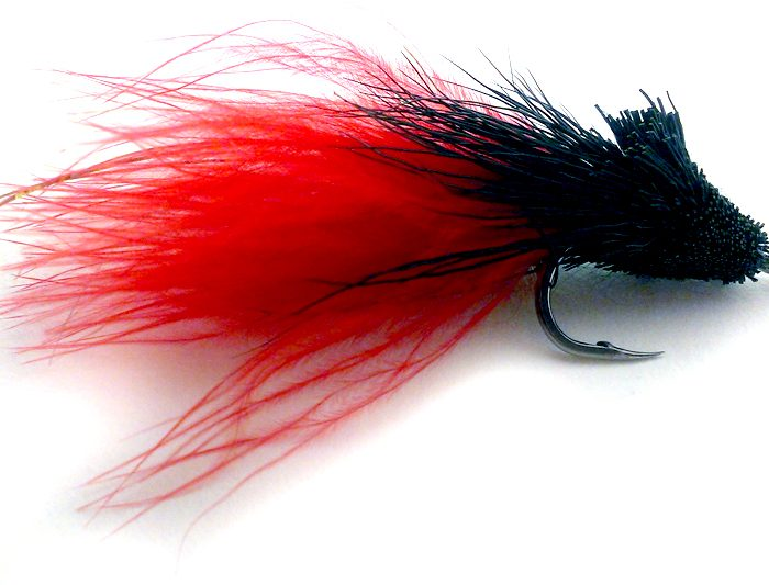 Black Death Muddler Cayman Tarpon Fly