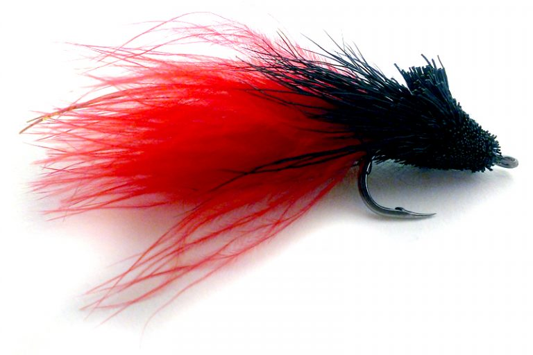 Black Death Muddler Cayman Tarpon Fly