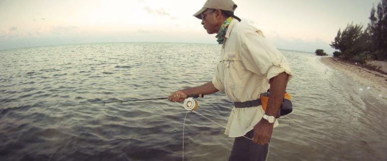 Strip Striking on a Cayman Bonefish